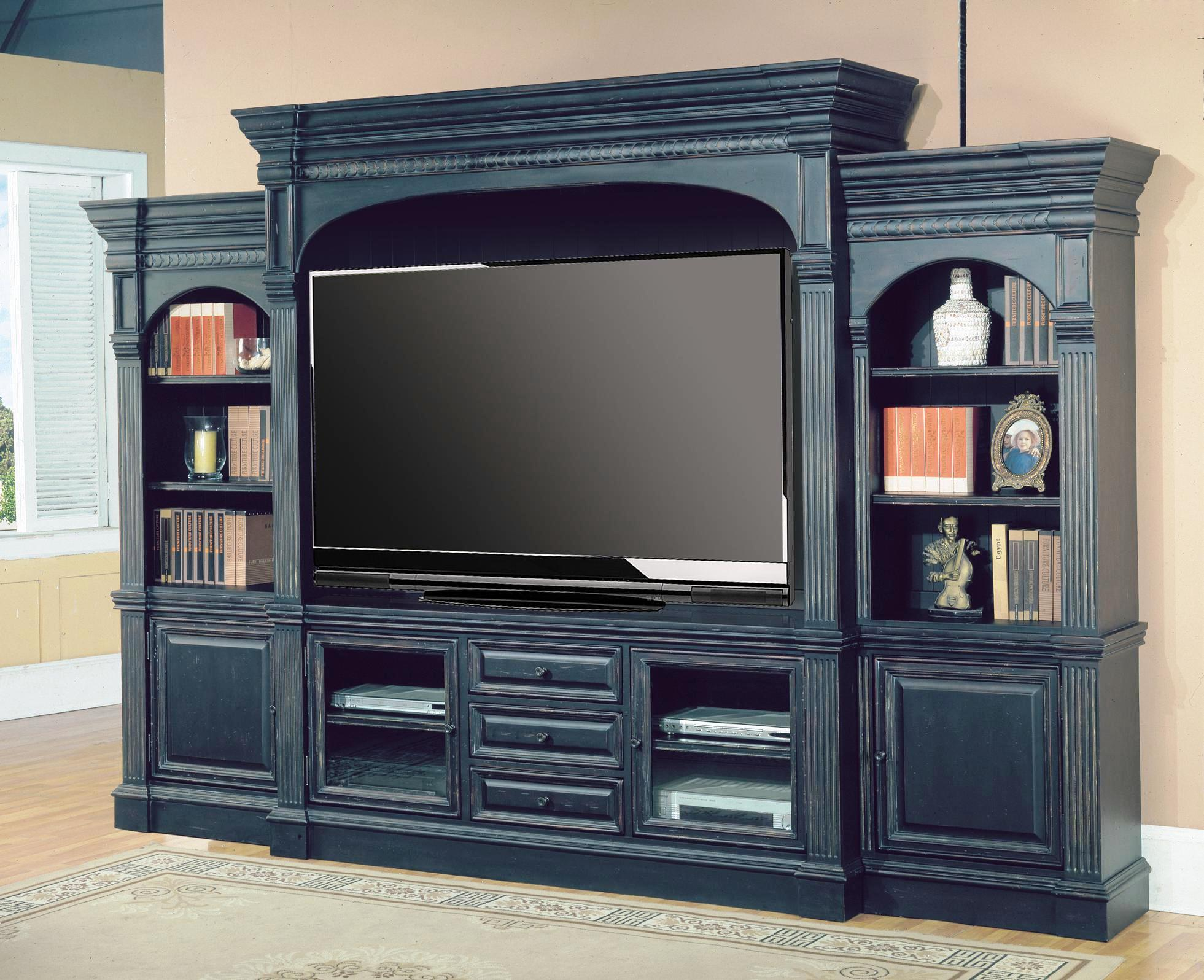 Image of: Wall Mounted Entertainment Center