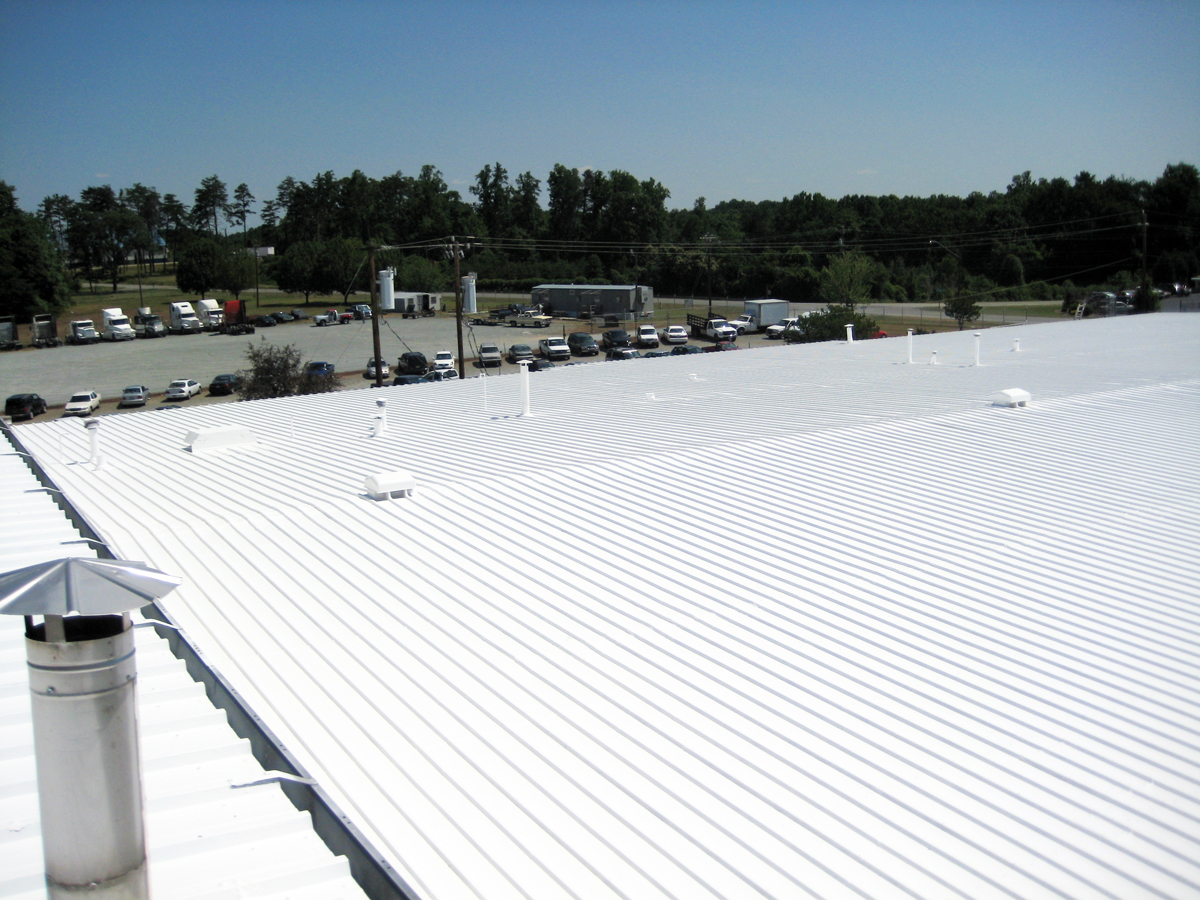 White Acrylic Roof Coating