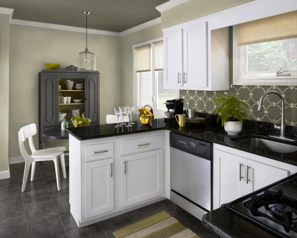 Image of: White And Black Kitchen Curtains