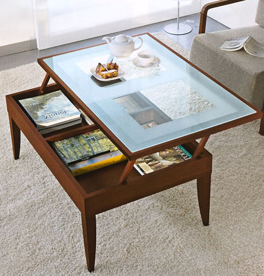 Image of: Coffee Tables For Small Living Room