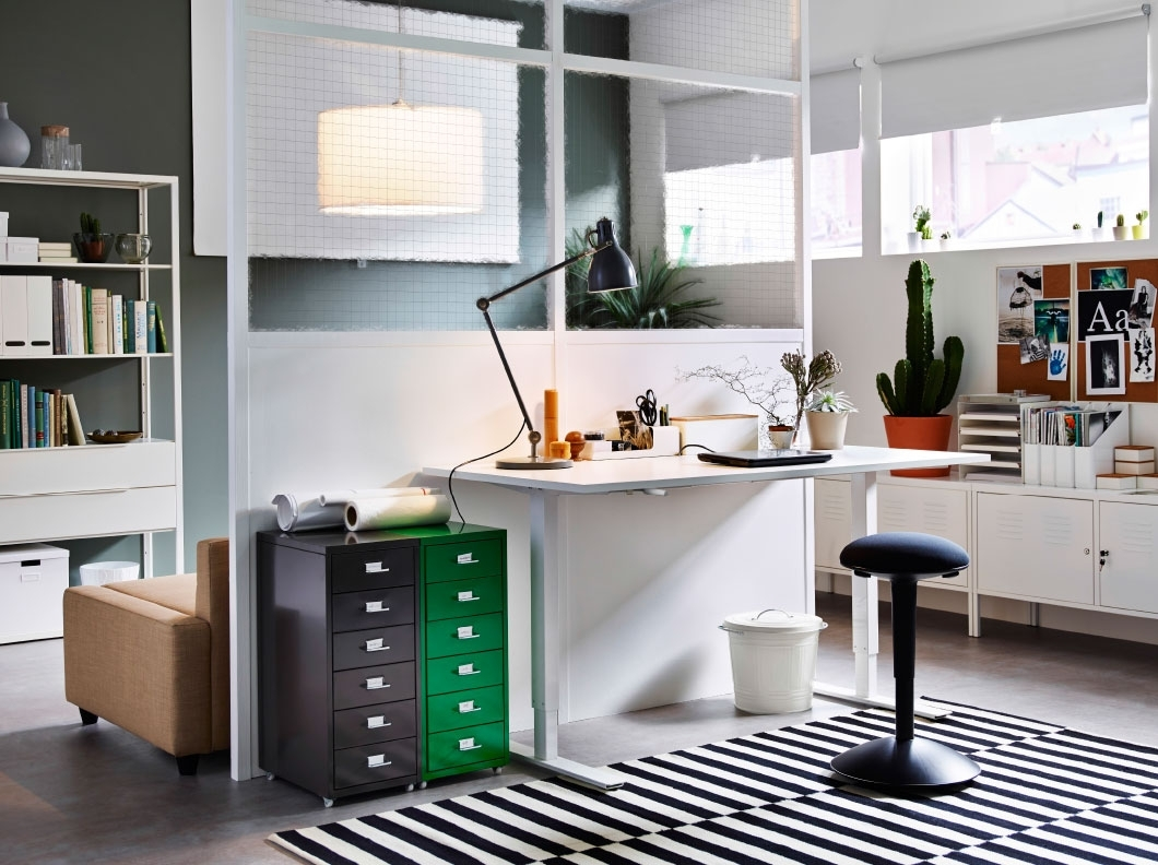 Image of: Ikea Business Office Ideas