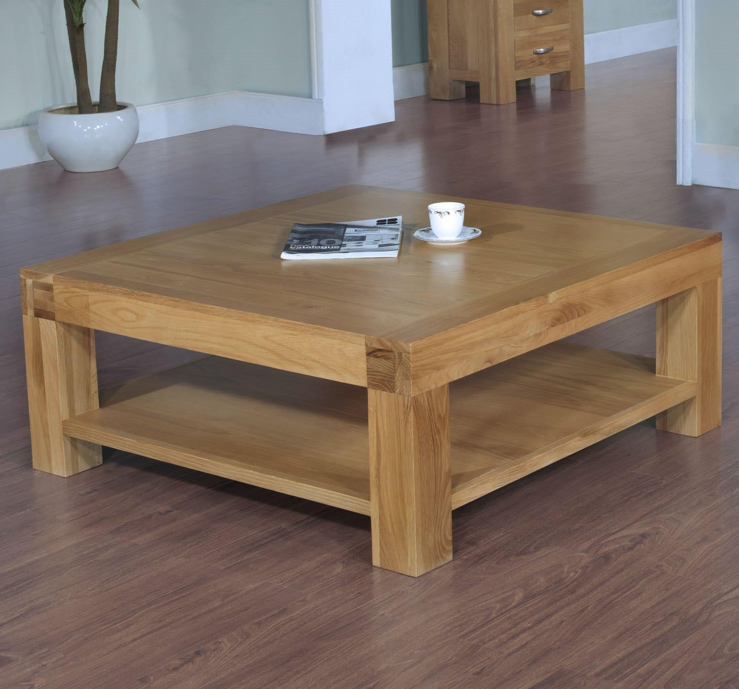 Two Small Tables Instead Of Coffee Table