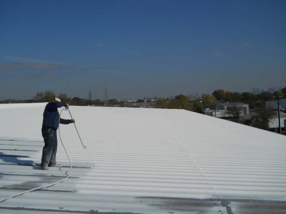 Image of: Aluminum Roof Coating Coverage Rates