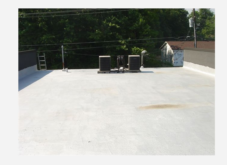 Image of: Aluminum Roof Coating Coverage