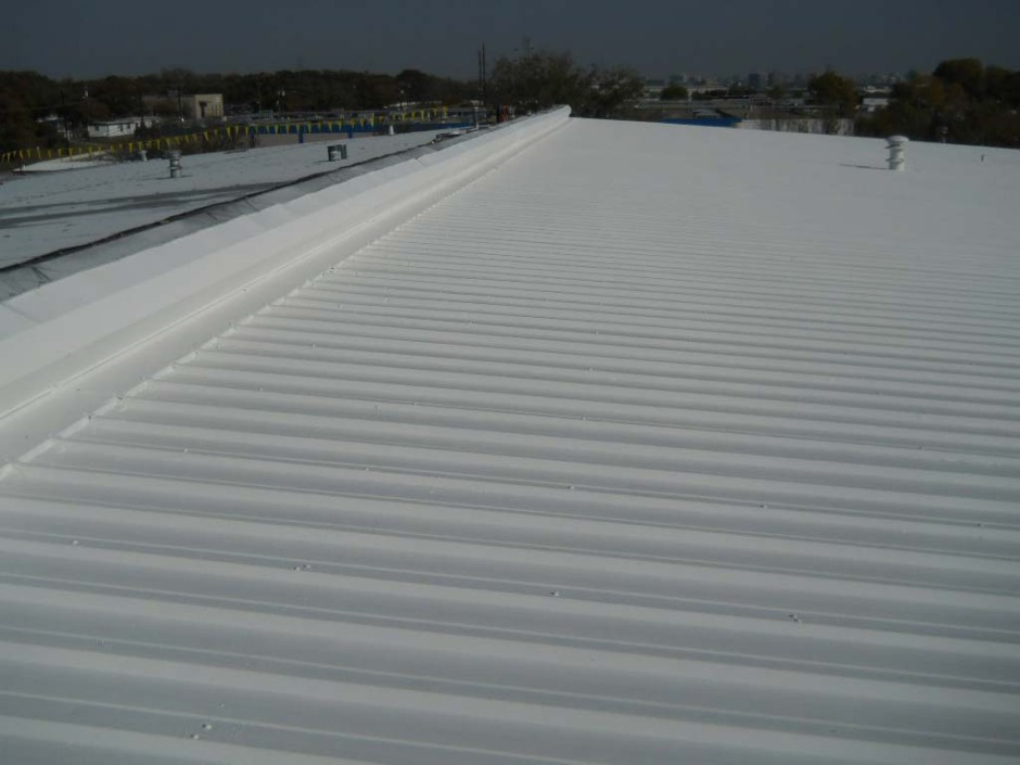Image of: Aluminum Roof Coating on Shingles
