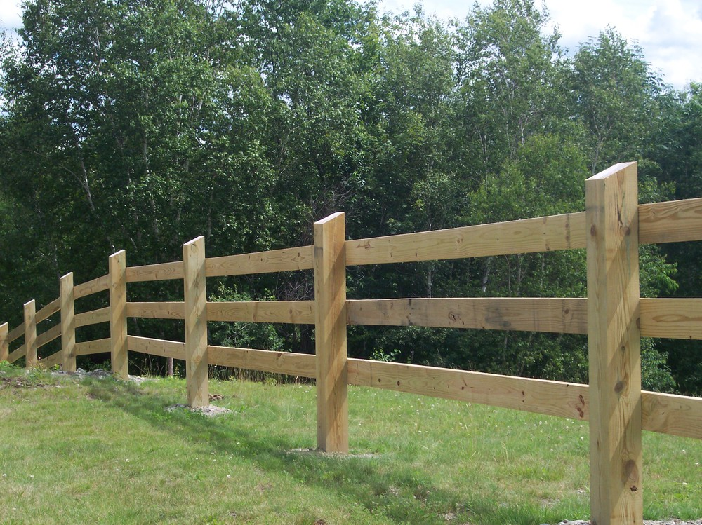 Image of: Cattle Fencing Wood