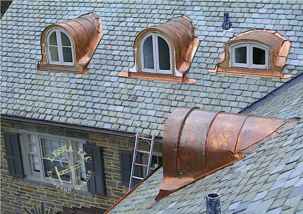 Image of: Copper Roof Flashing Details