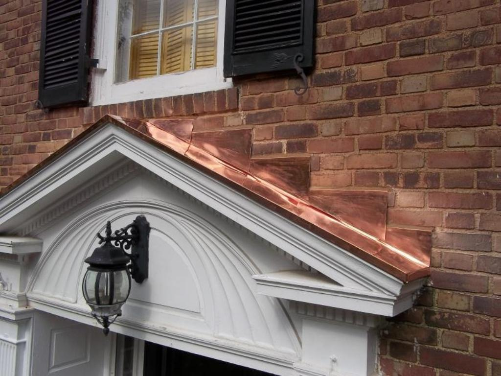 Image of: Copper Roof Flashing Distributors in Seattle
