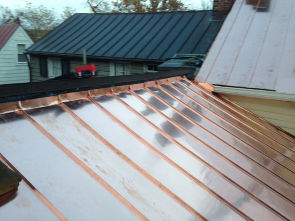 Image of: Copper Roof Flashing Kits