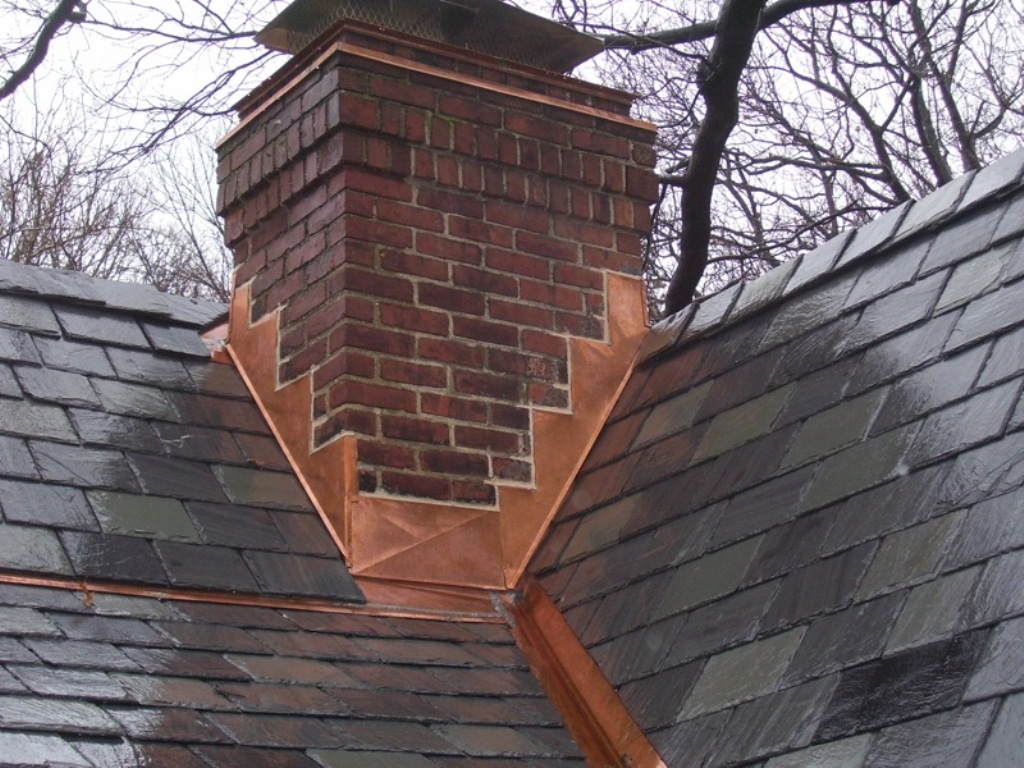 Image of: Copper Roof Flashing Prices