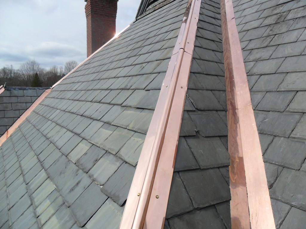 Copper Roof Flashing Rolls