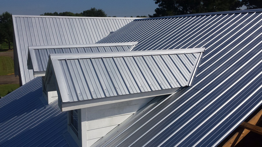 Custom 5v Metal Roof