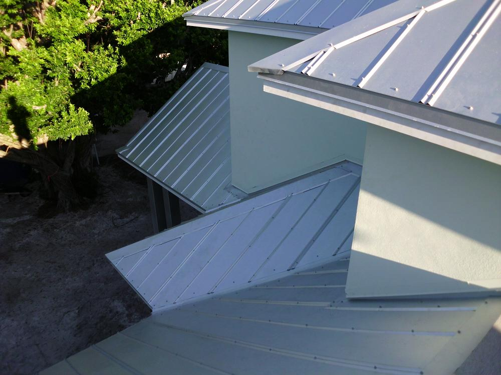 Image of: House 5v Metal Roof