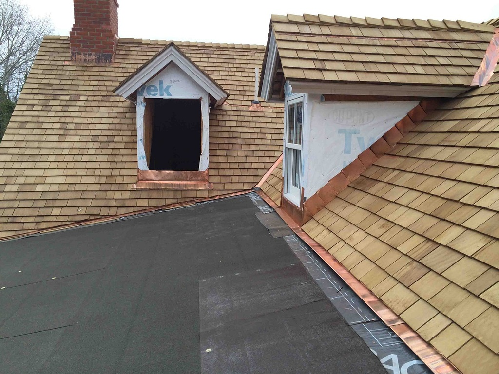 Image of: Lowes Copper Roof Flashing