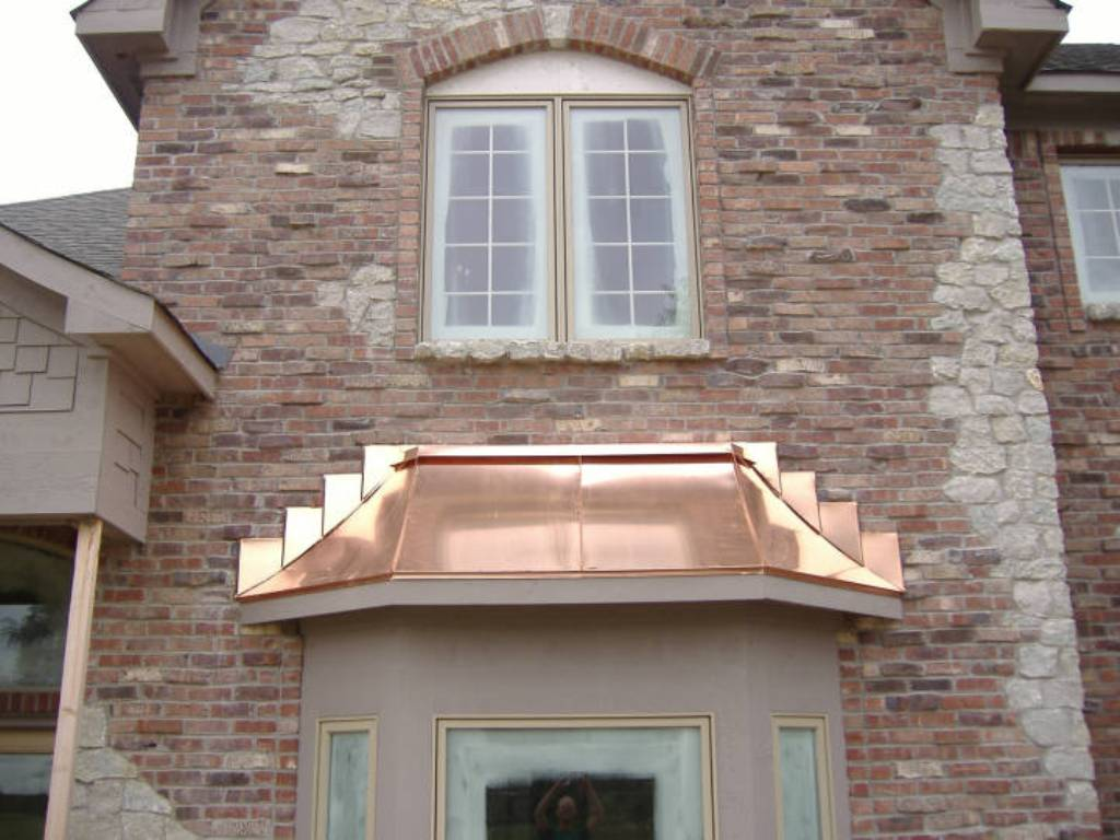 Image of: Roll Copper Roof Flashing