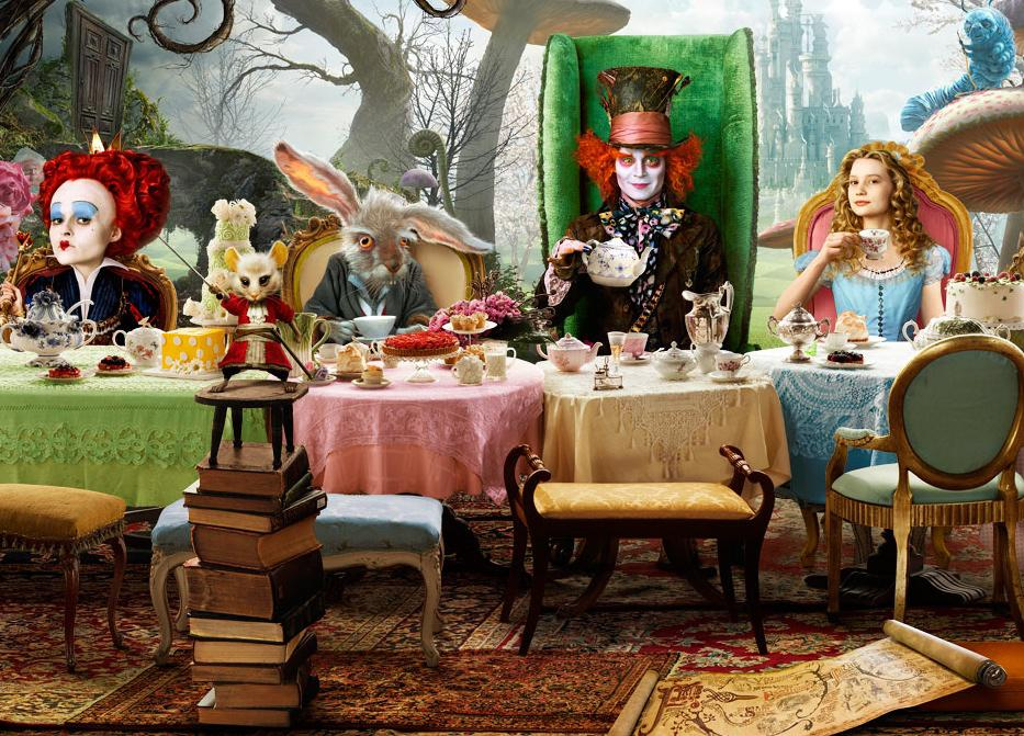 Image of: Alice In Wonderland Theme Ideas
