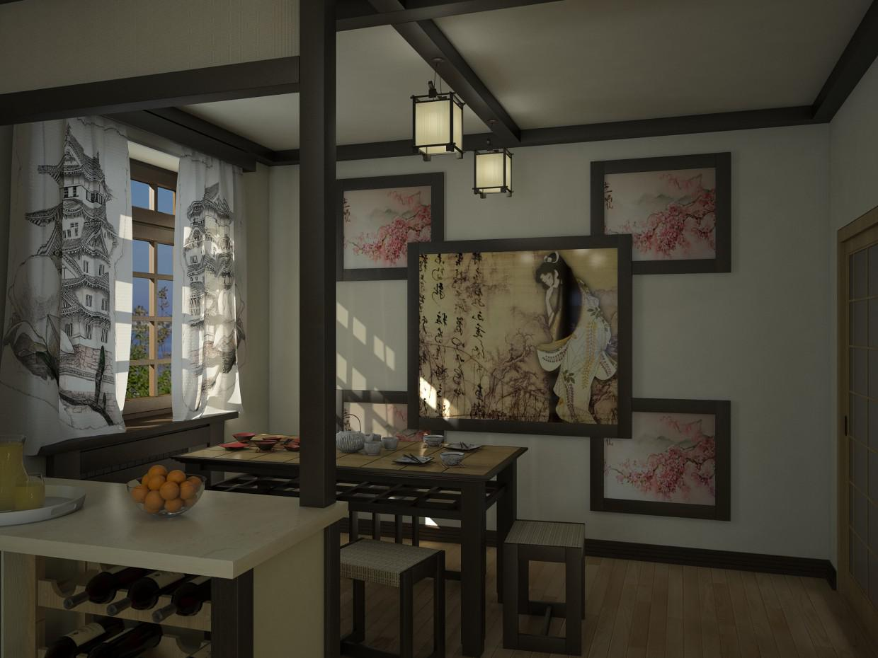 Image of: Amazing Pictures Of Japanese Kitchens