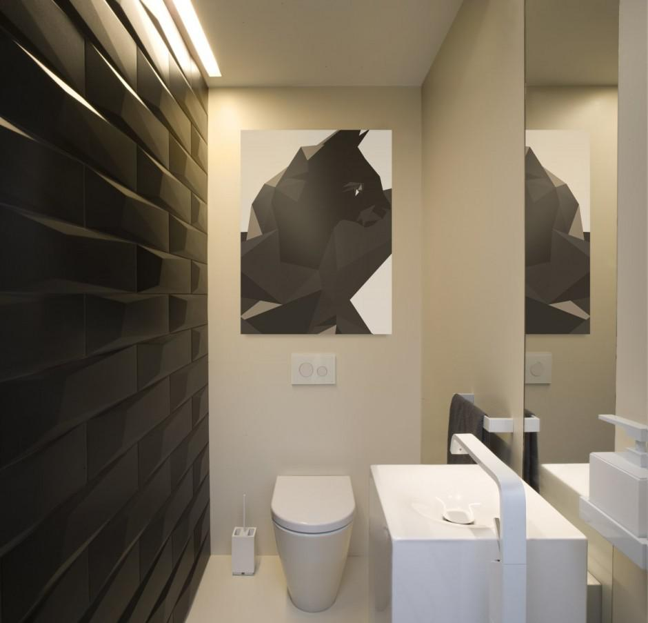 Image of: Apartment Small WC Design