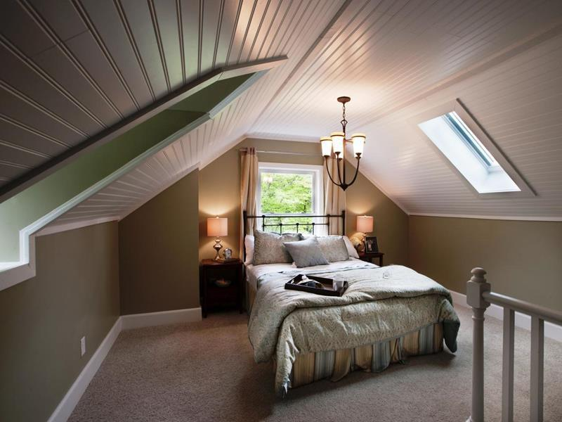Image of: Attractive Attic Dormer Ideas