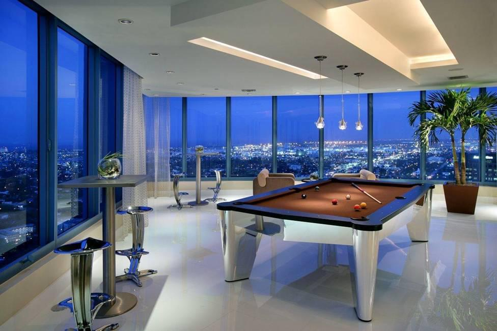 Image of: Attractive Billiards Room Decorating Ideas