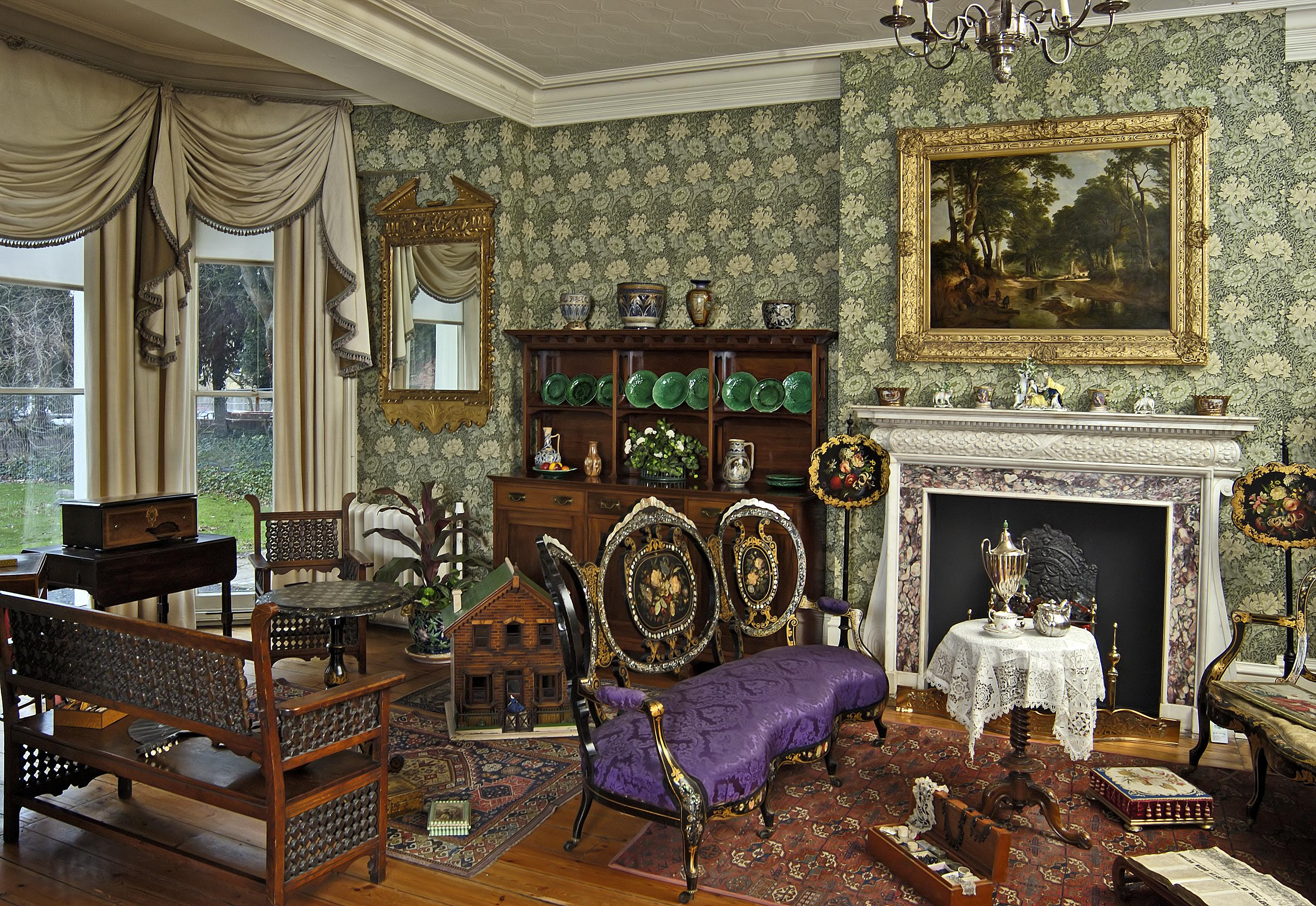 Image of: Attractive Victorian Home Decorations
