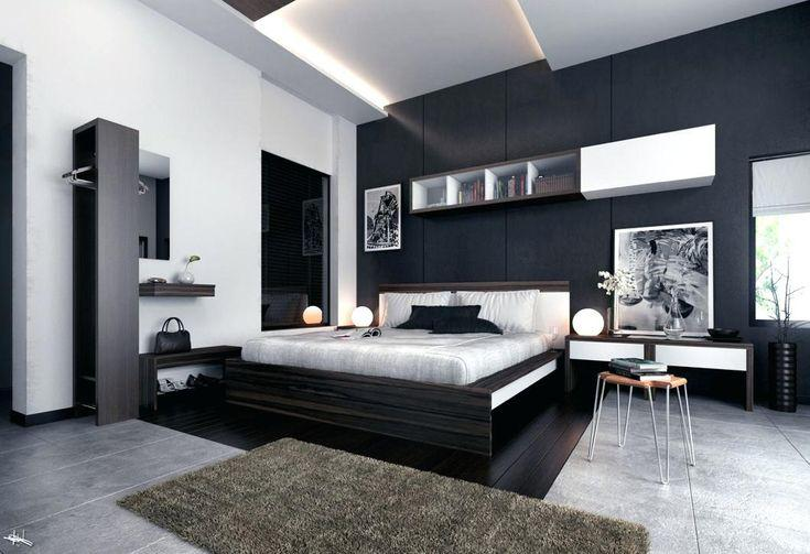 Image of: Awesome Black And Silver Bedroom Ideas