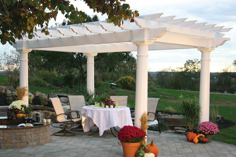 Image of: Awesome Garden Pergola Design Ideas