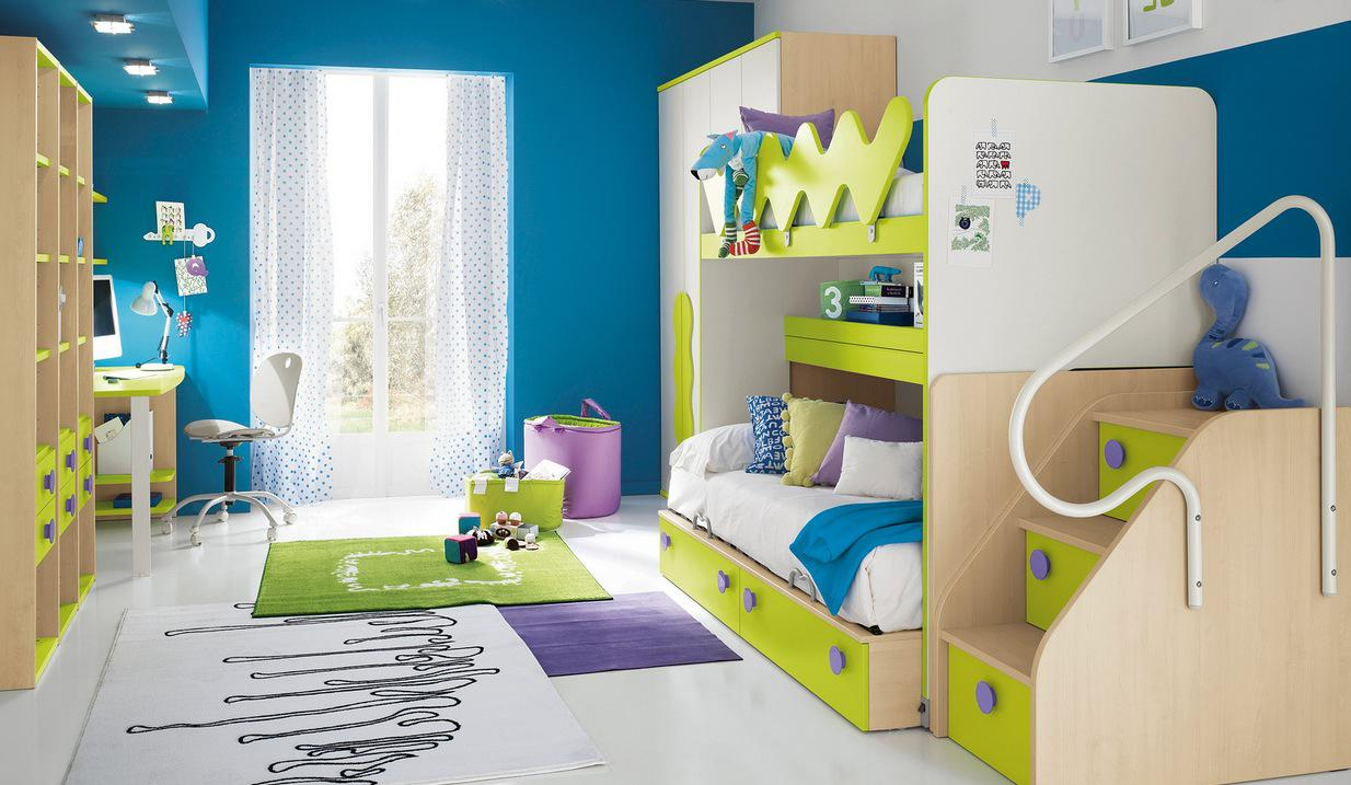 Image of: Awesome Kids Bedroom Designs