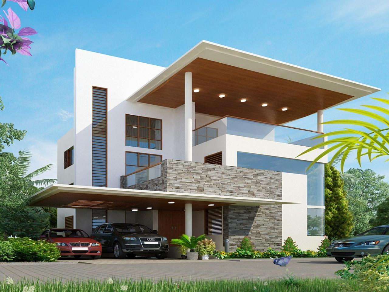 Image of: Awesome Modern House Plans