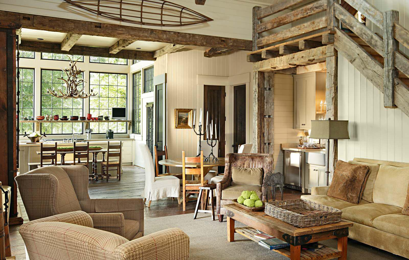 Image of: Awesome Rural House Interior