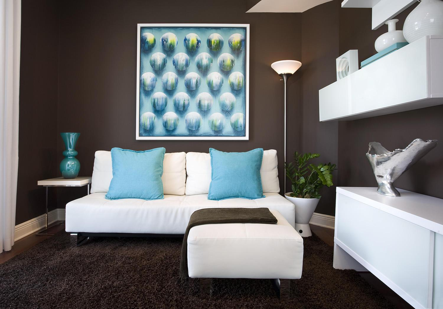 Image of: Awesome Turquoise Interior Design Ideas