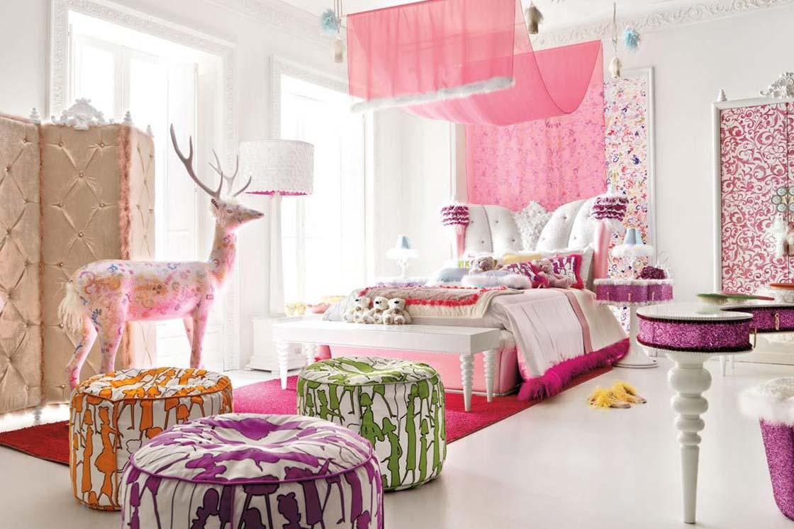 Image of: Pretty Girl Bedrooms