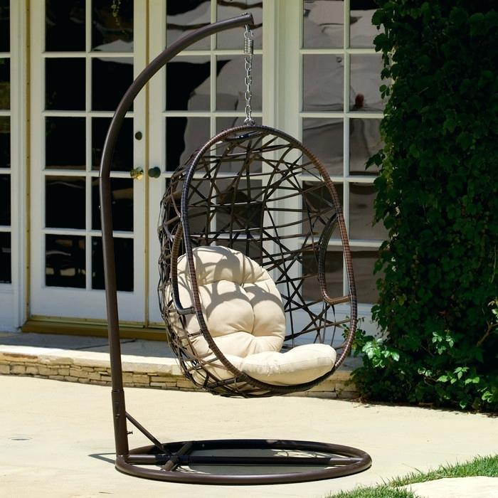 Image of: B&Q Garden Swing Chair