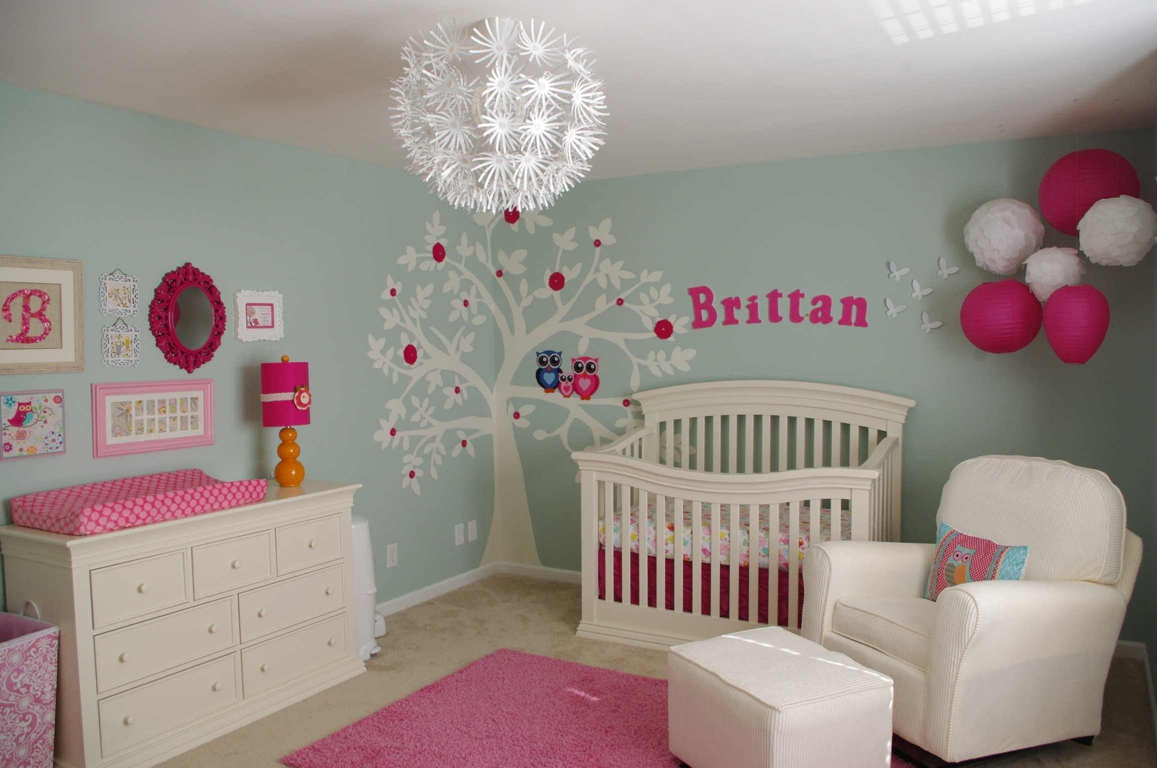 Image of: Baby Girl Nursery Decorating Ideas On A Budget