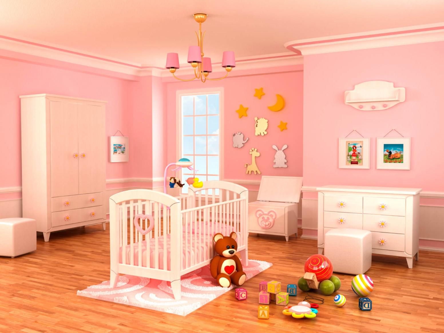 Baby Girls Nursery Themes Plans