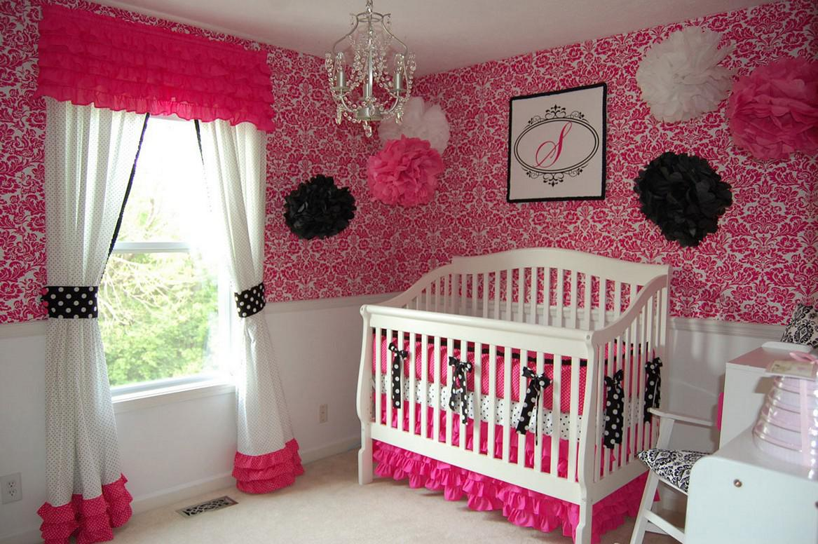 Image of: Pink Baby Room Girl Ideas