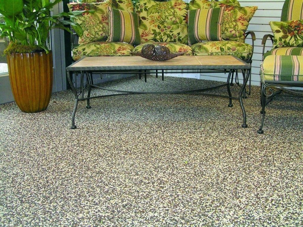 Image of: Back Patio Flooring Ideas