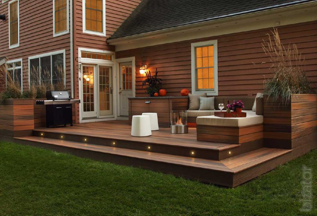 Image of: Backyard Deck Ideas Diy