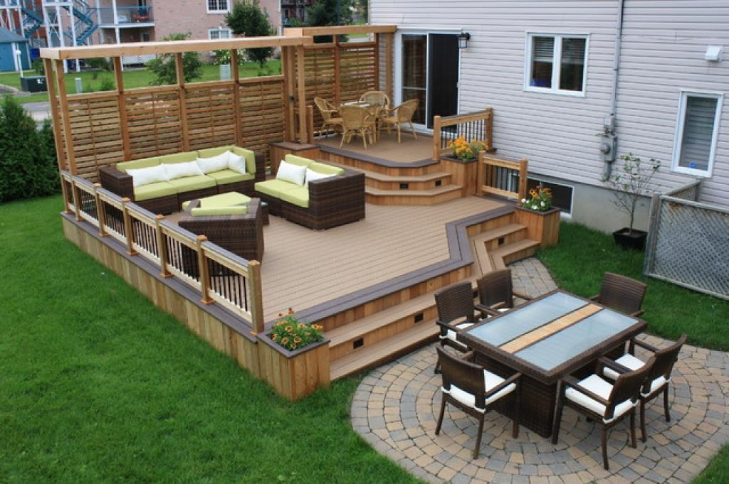 Image of: Backyard Deck Ideas Photos