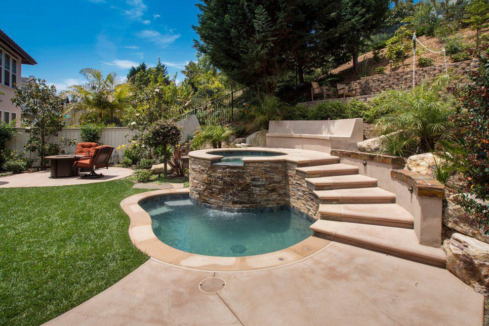 Image of: Backyard Ideas With Swimming Pool