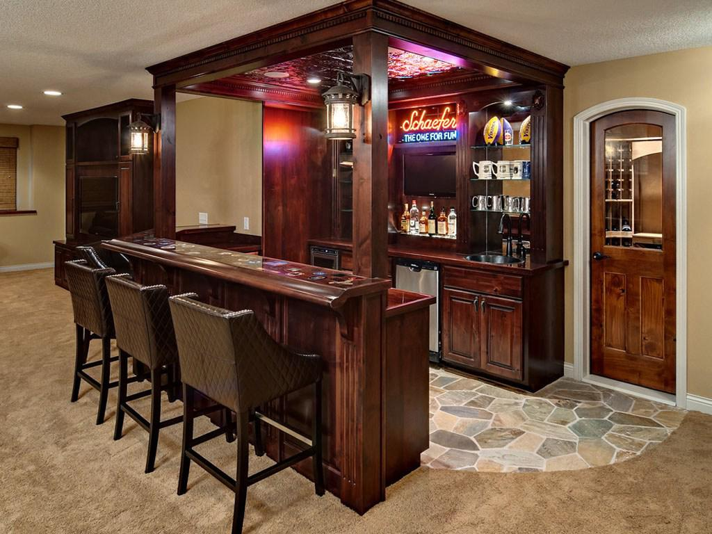 Image of: Bar At Home Furniture