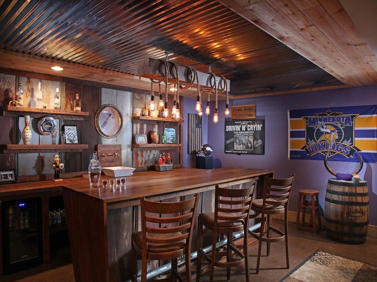 Image of: Bar At Home Ideas