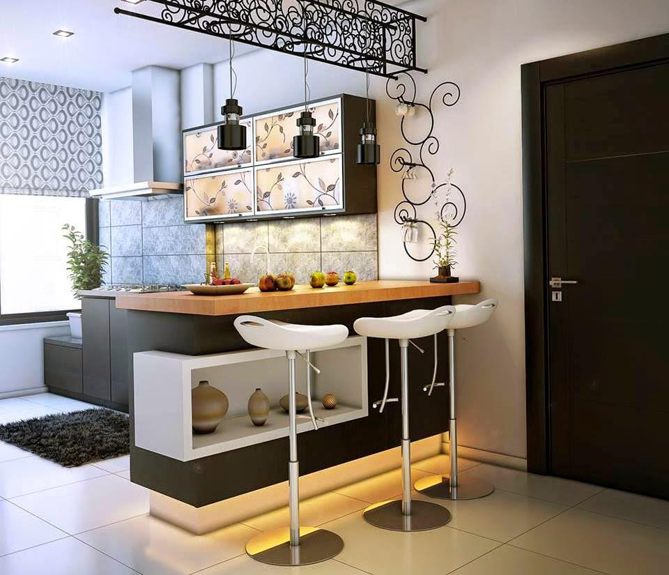 Image of: Bar Counter Design At Home