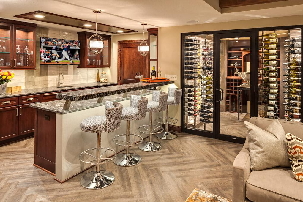 Image of: Bar Counter Ideas For Home