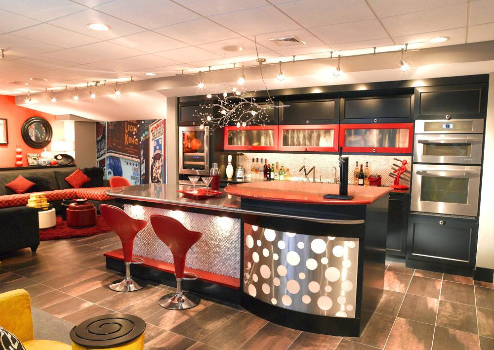 Image of: Bar In Home Design