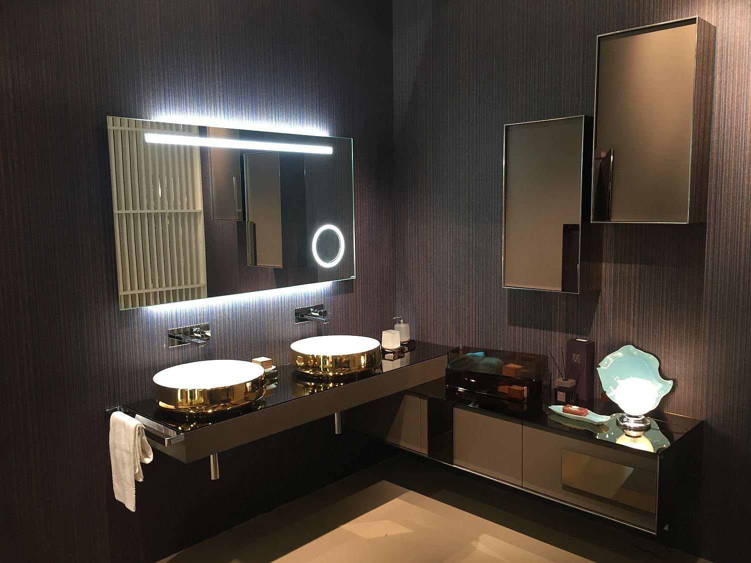Image of: Bathroom Vanity Lights Contemporary