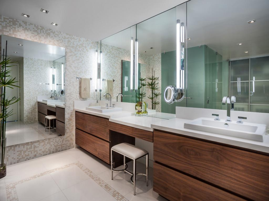 Image of: Bathroom Vanity Units Contemporary