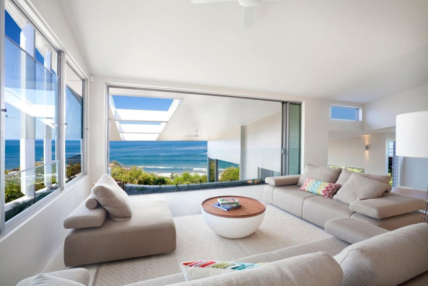Image of: Beach House Designs Plans