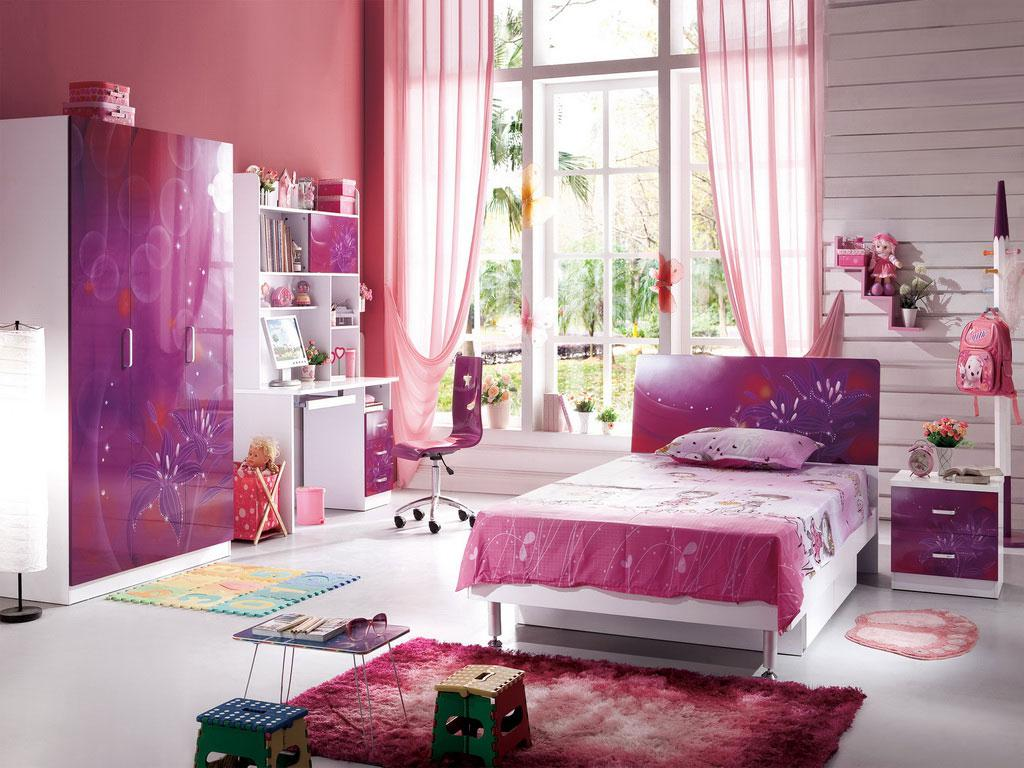 Image of: Beautiful Bedrooms For Girls Design