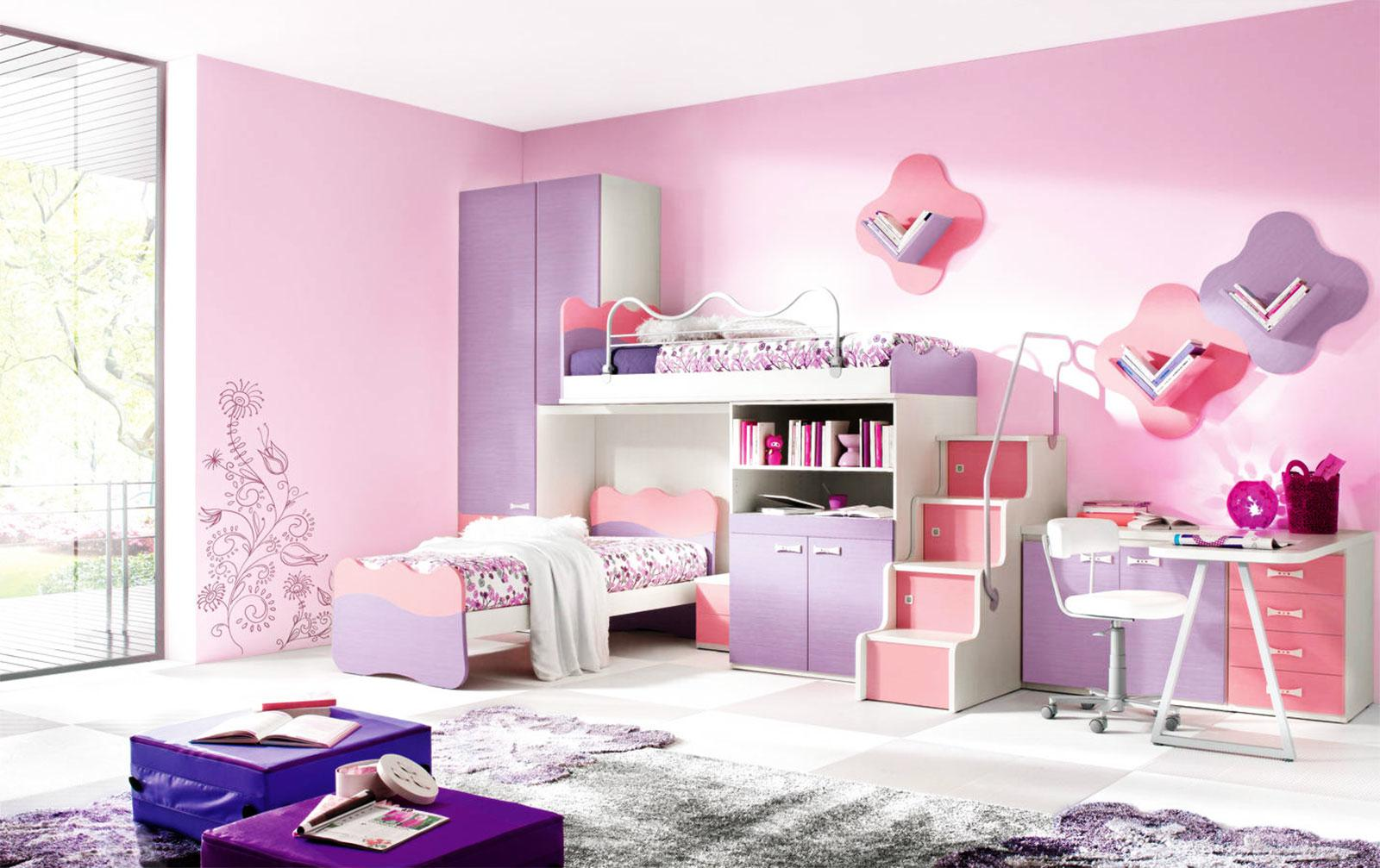 Image of: Beautiful Bedrooms For Girls